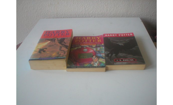 Harry Potter books and dvds